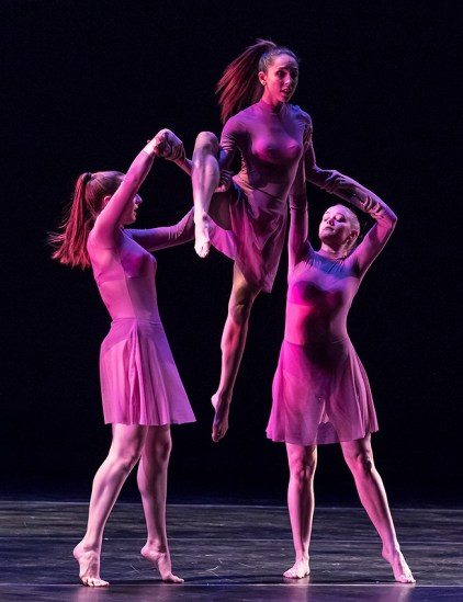 """""""Etched In Us"""" by Rachel Epling - UCSB Theater & Dance Spring Dance Concert 4/13/17 Hatlen Theater"""