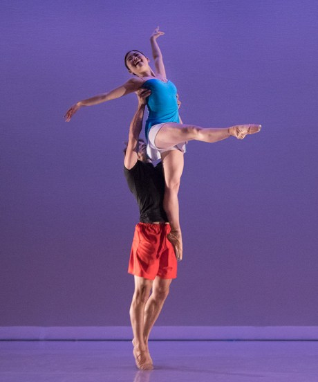 "John Piel & Marika Kobiashi in Cecily Stewart's ""Trains of Thought"" - State Street Ballet 5/12/17 The New Vic Theatre"