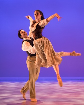 "Ryan Camou & Leila Drake-Fossek in William Soleau's ""Sonnets of Love & Death"" - State Street ballet 5/12/17 The New Vic Theatre"