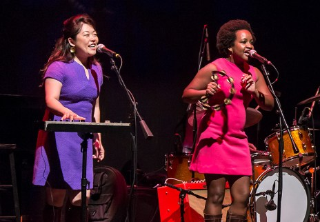 The Fayettes: BettySoo and Akina Adderly - Sings LIke Hell 6/24/17 The Lobero Theatre