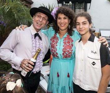 Friends and family at Susanna Vapnek's Fiesta Party 8/5/17 Susanna Vapnek residence