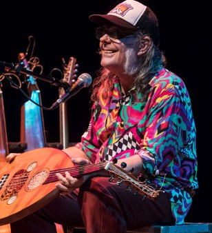 David Lindley talks about his special Turkish Oud 8/26/17 The Lobero Theatre