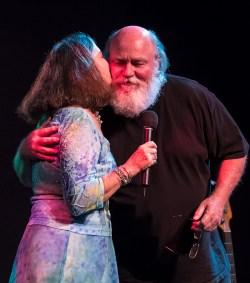 Peggie says farewell and thank you to retiring Lobero Theatre sound man Dave Compton