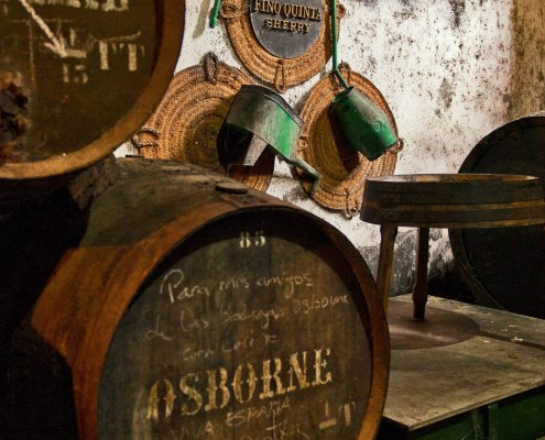 Bodegas Osborne VORS and RARE Sherry Tasting Dinner paired with a menu by David Bouley