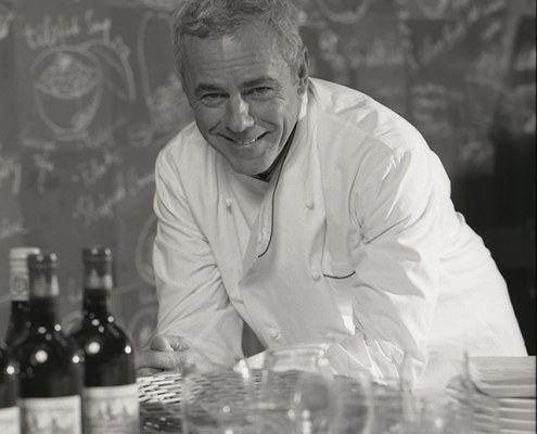 Chef David Bouley in Bouley Test Kitchen