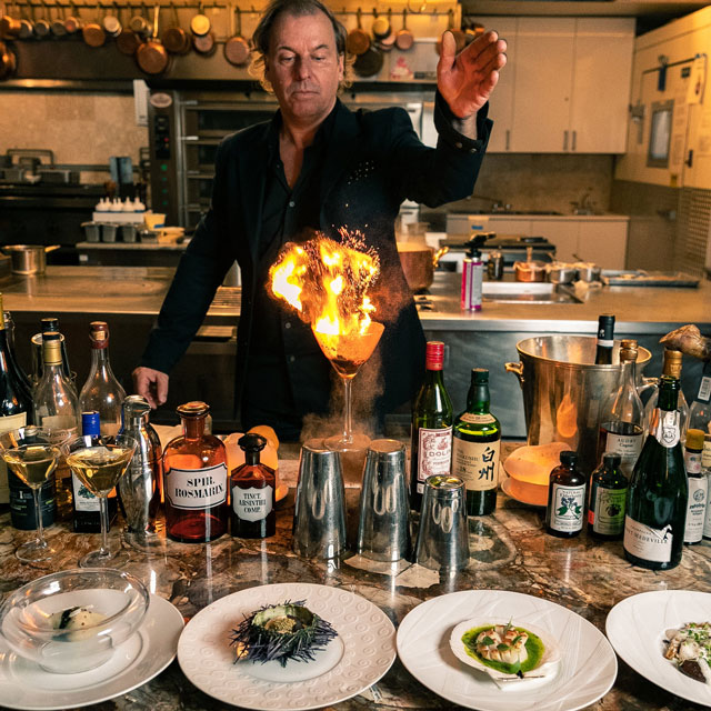 Albert Trummer Bar Chef: Mixology Series at Bouley Test Kitchen