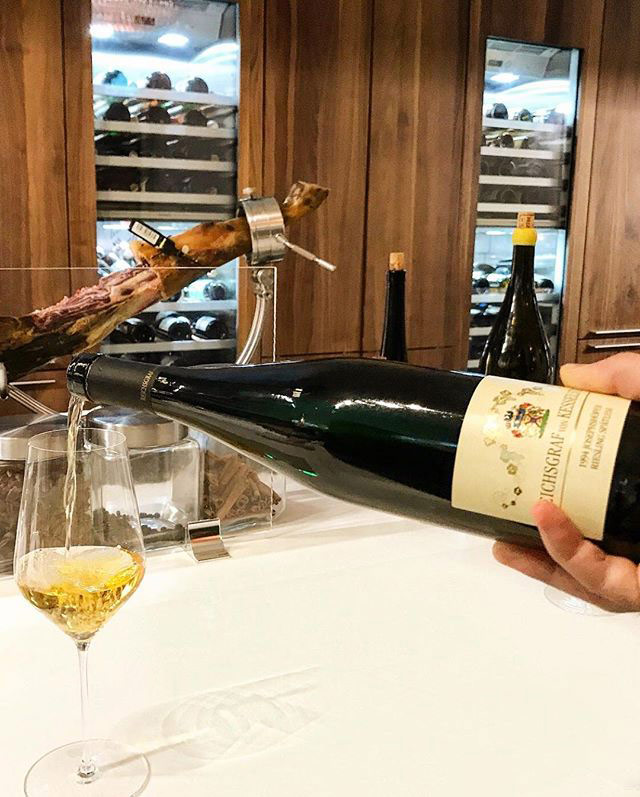 Bouley-at-Home-pouring-Wine
