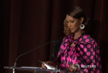 Iman is honored at the Save the Children's 4th annual Illumination Gala. NYC.