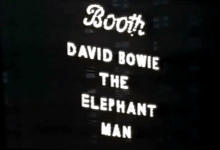 David Bowie is The Elephant Man – Ad / Trailer – 1980