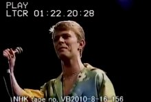 David Bowie – Beauty and the Beast – Tokyo NHK Hall, 31st December 1978 (NHK Archive Time Coded Video)