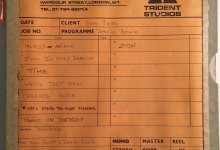 Listen to different takes of songs from Aladdin Sane, up for auction on May 21st!