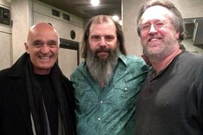Chris, Steve Earle & David