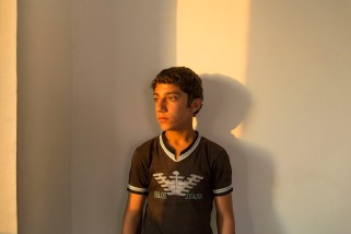 "Fadi from Dara'a hasn't been to school since arriving in Jordan. While more than 90% of Syrian children were enrolled in school before the war; only one in three of the refugees attend class in Jordan. ""I had a better life in Syria with my parents and my friends,"" he said. ""I just want to go to school."""