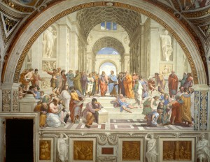 The School of Athens, by Raphael