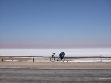 Cycling to the Sahara: Ksar Ghilane (Moany)