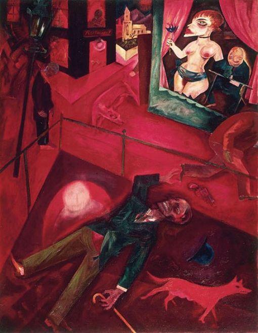 george-grosz-suicide-1916