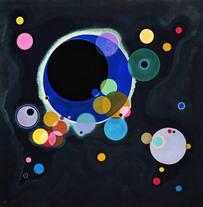Several Circles - Wassily Kandinsky