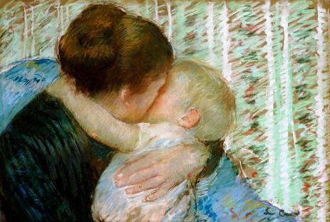 a-goodnight-hug-mary-stevenson-cassatt