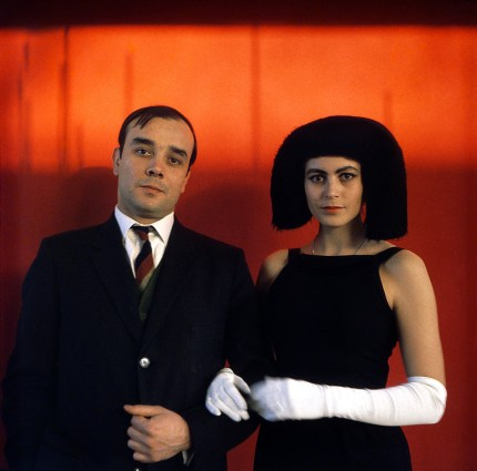 Yves Klein and Rotraut Uecker