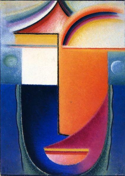 jawlensky abstract heads