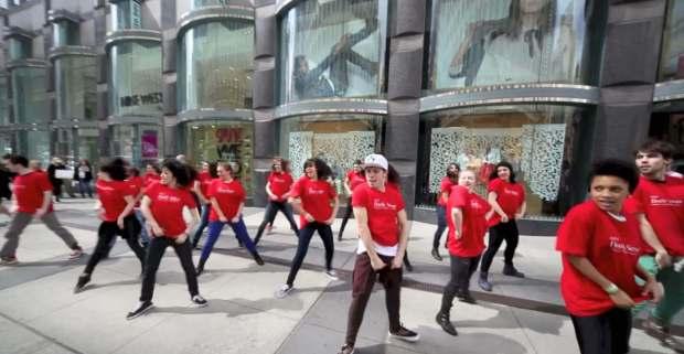 flashmob advertising