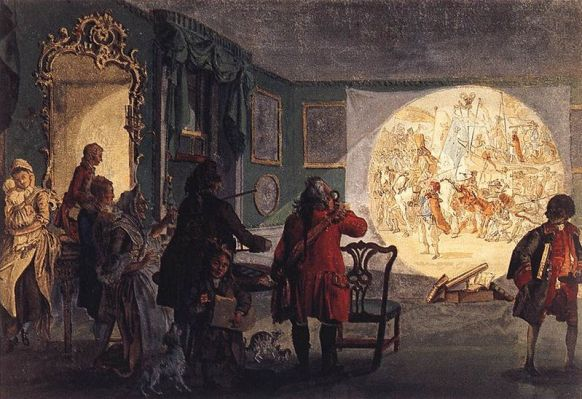 magic lantern, 1659