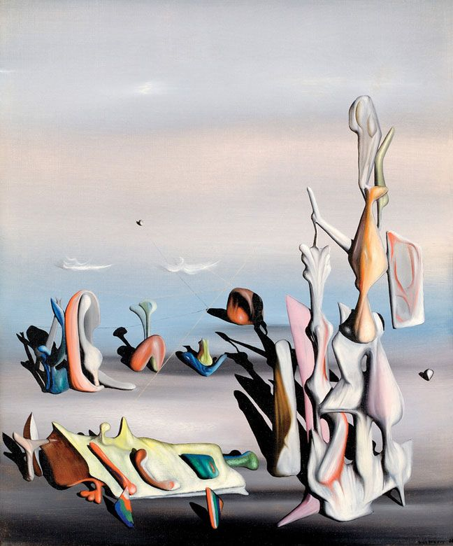 tanguy surreal art