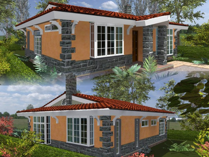 Cost of building a three bedroomed house in kenya for Cost of building a house in louisiana