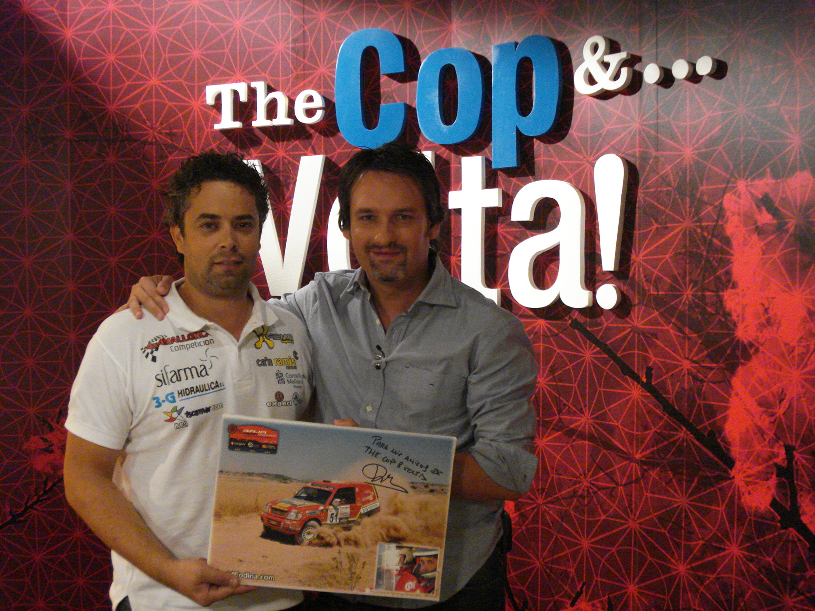 Entrevista The Cop & Volta