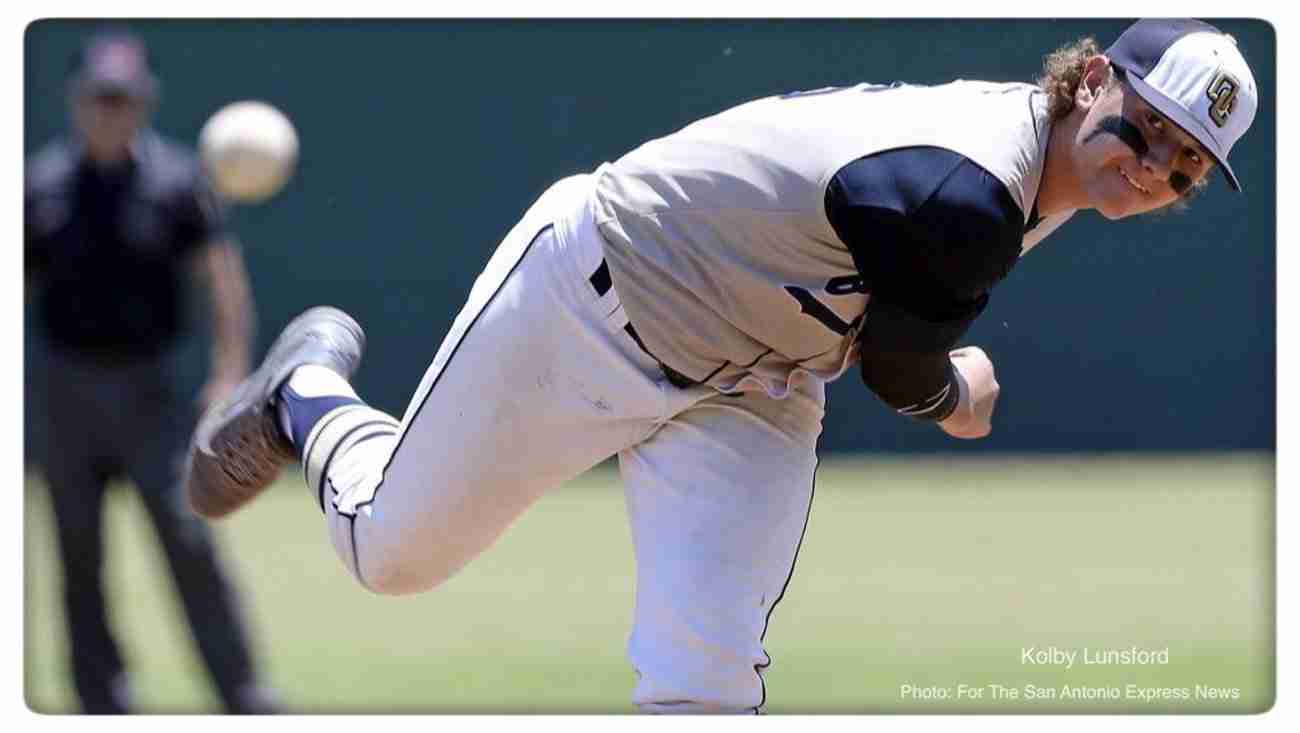 Kolby Lunsford - O'Connor Baseball