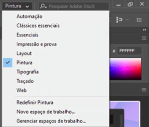 Adobe Illustrator Tela Pintura