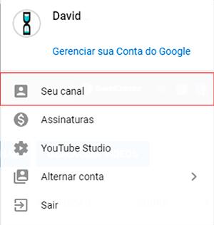YouTube Perfil