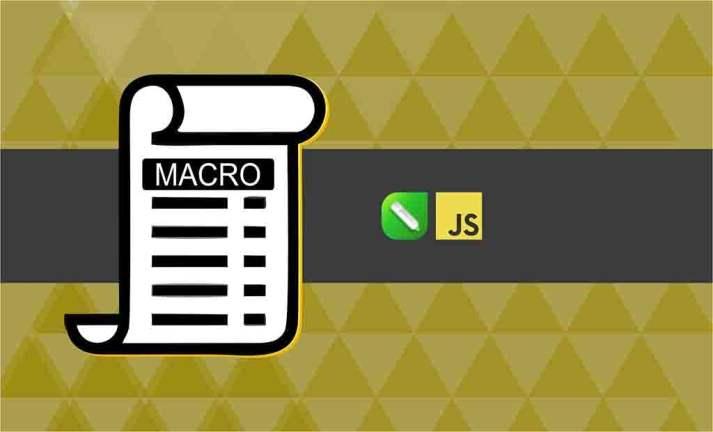Criando Macro em JavaScript para CorelDRAW 2020