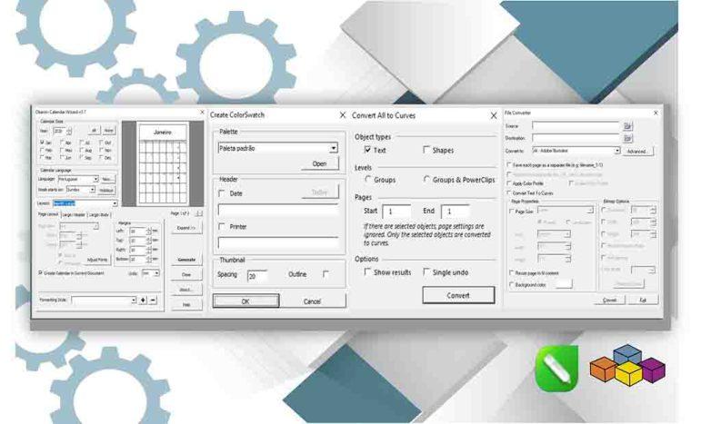 Usando macros com interface de usuários CorelDRAW 2020
