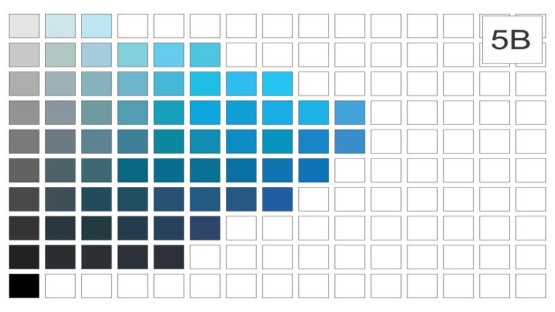Escala de cor 5b