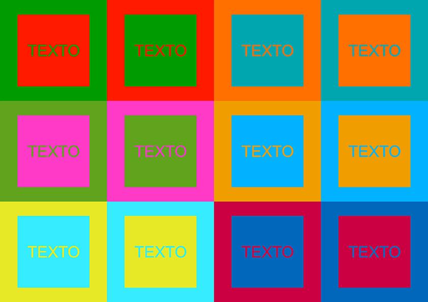 Tabela de Cores Vibrantes