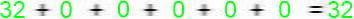 Conversões Resultado binário decimal