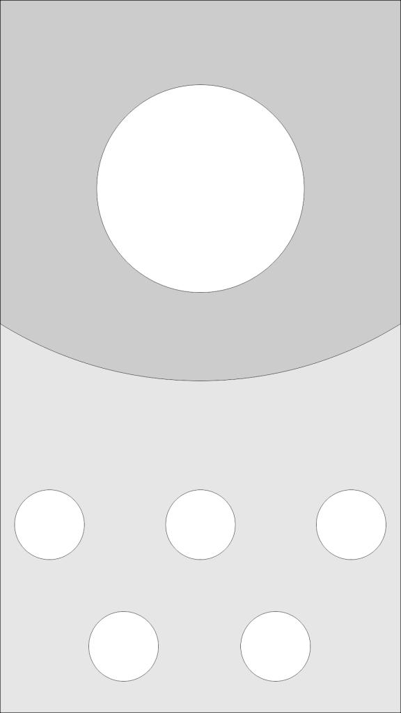 CorelDRAW Cartão digital posição dos elementos gráficos