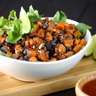 Tempeh-Chorizo Burrito Bowl