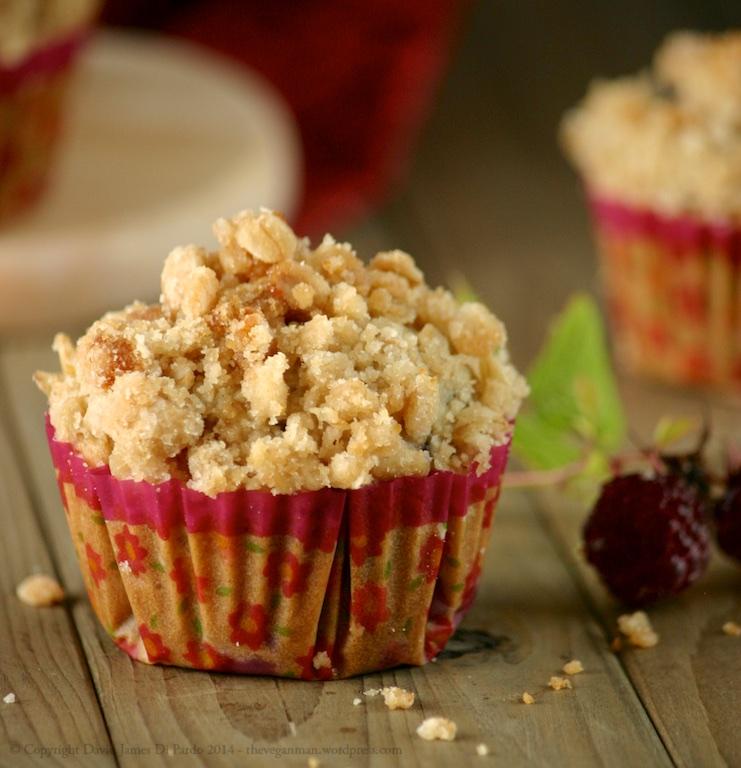 Raspberry Oat Crumb Muffins 03