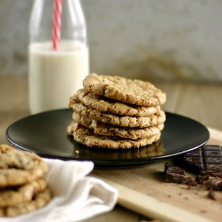 Gluten-Free Chocolate Chunk Cookies
