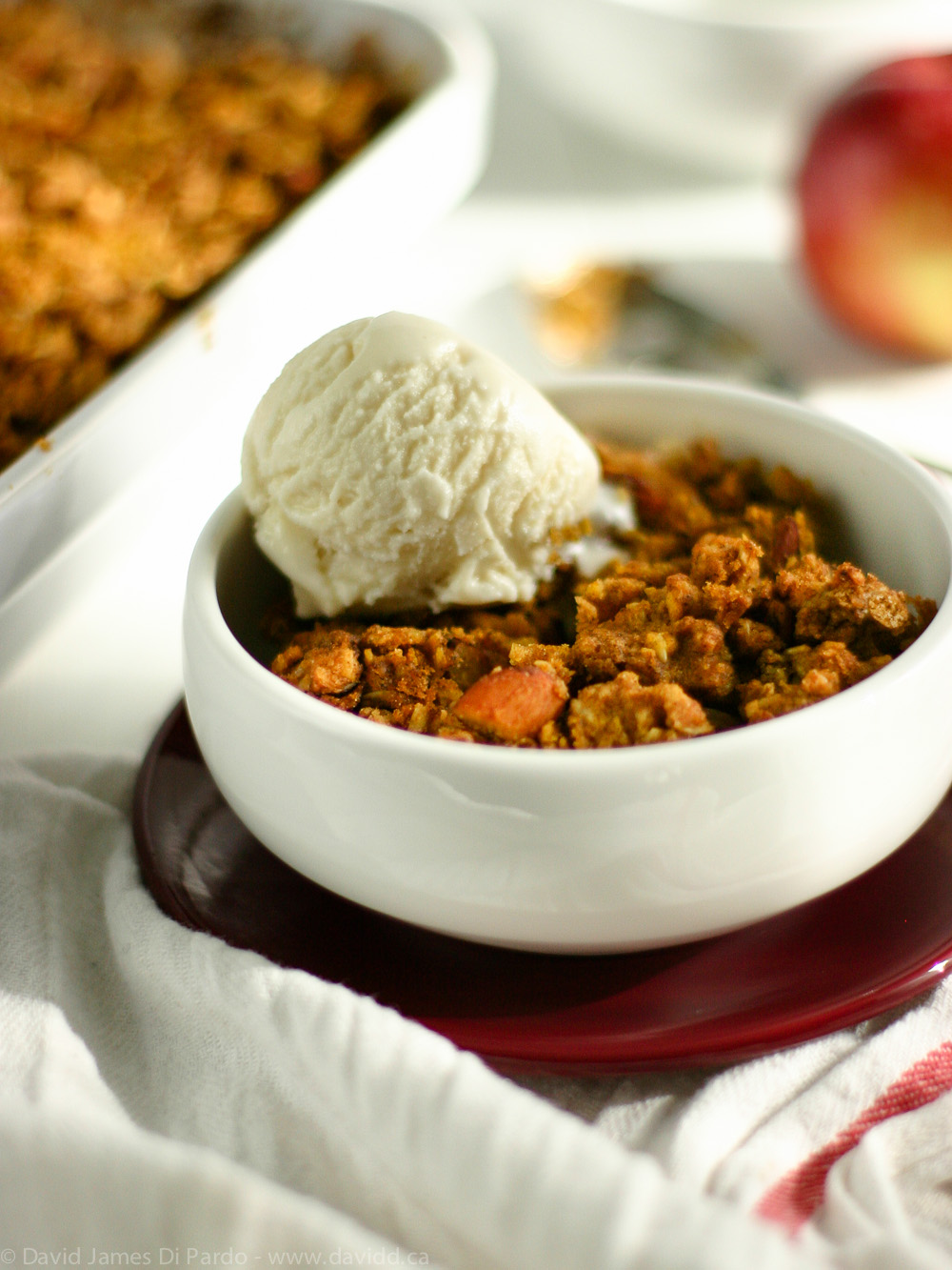 Vegan Gluten-Free Pumpkin Apple Crisp