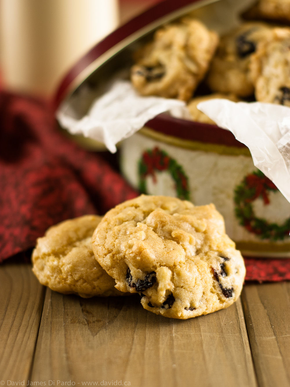 Vegan Cherry Almond Drop Cookies