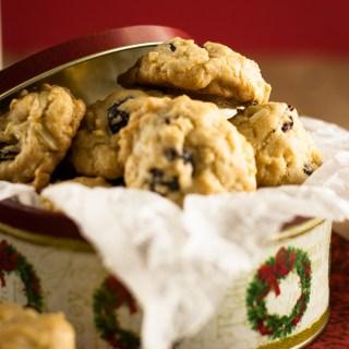 Cherry Almond Drop Cookies