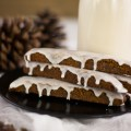 Vegan Gingerbread Biscotti