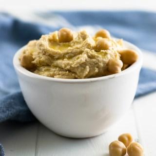 DIY Easy Hummus Recipe