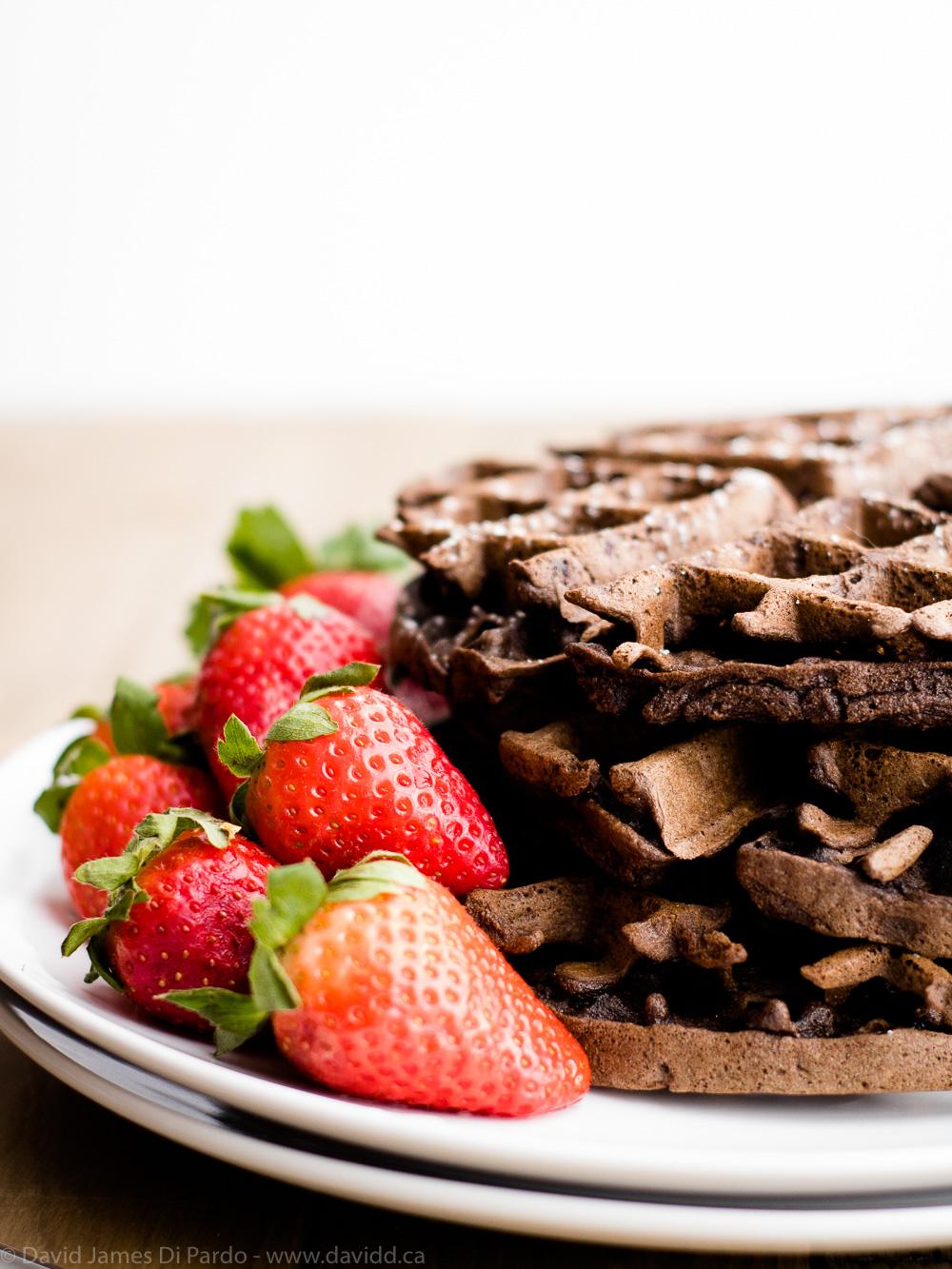 Gluten-Free Chocolate Waffles
