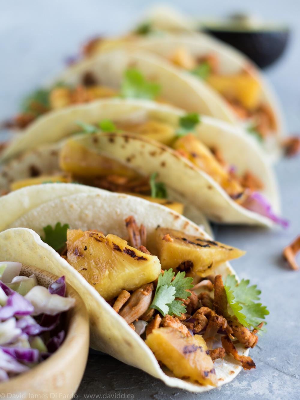 Vegan Tacos Al Pastor