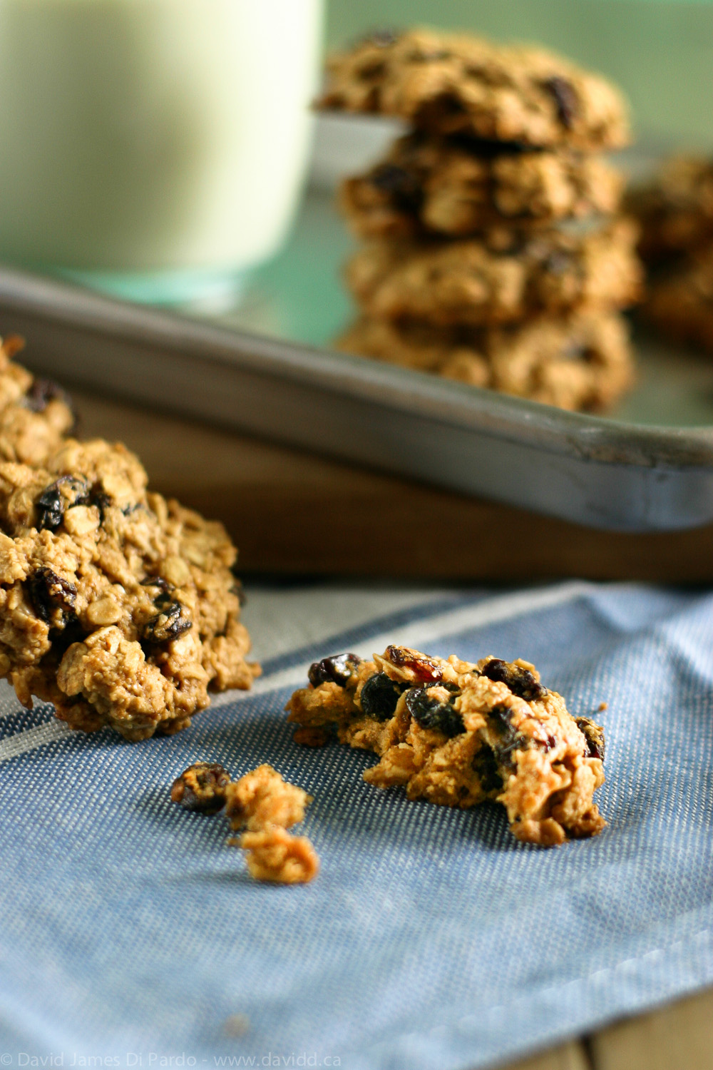 Gluten Free Oatmeal Raisin Cookies