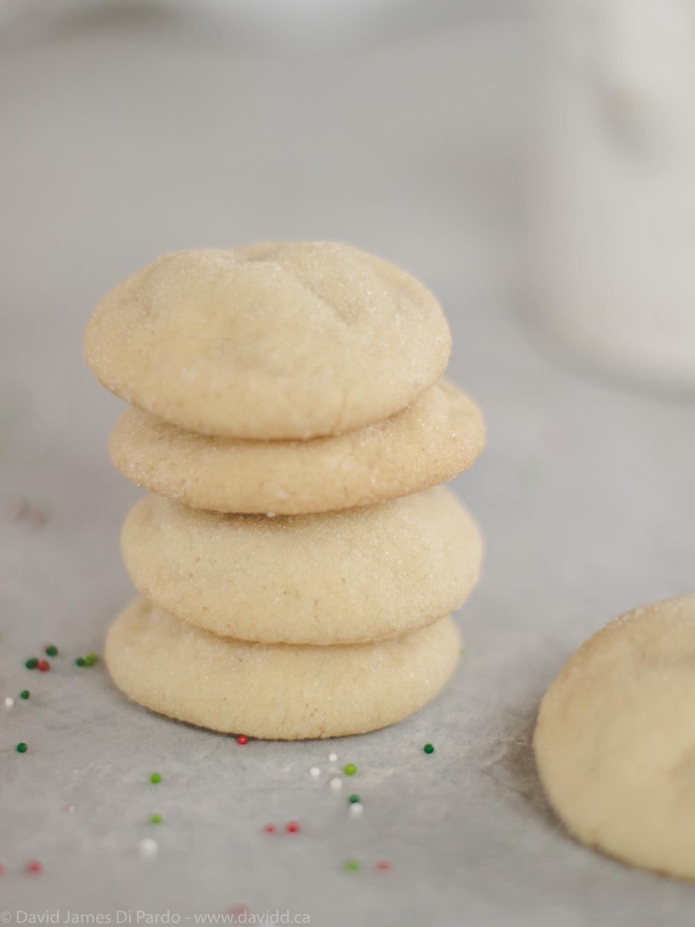 Vegan Olive Oil Sugar Cookies